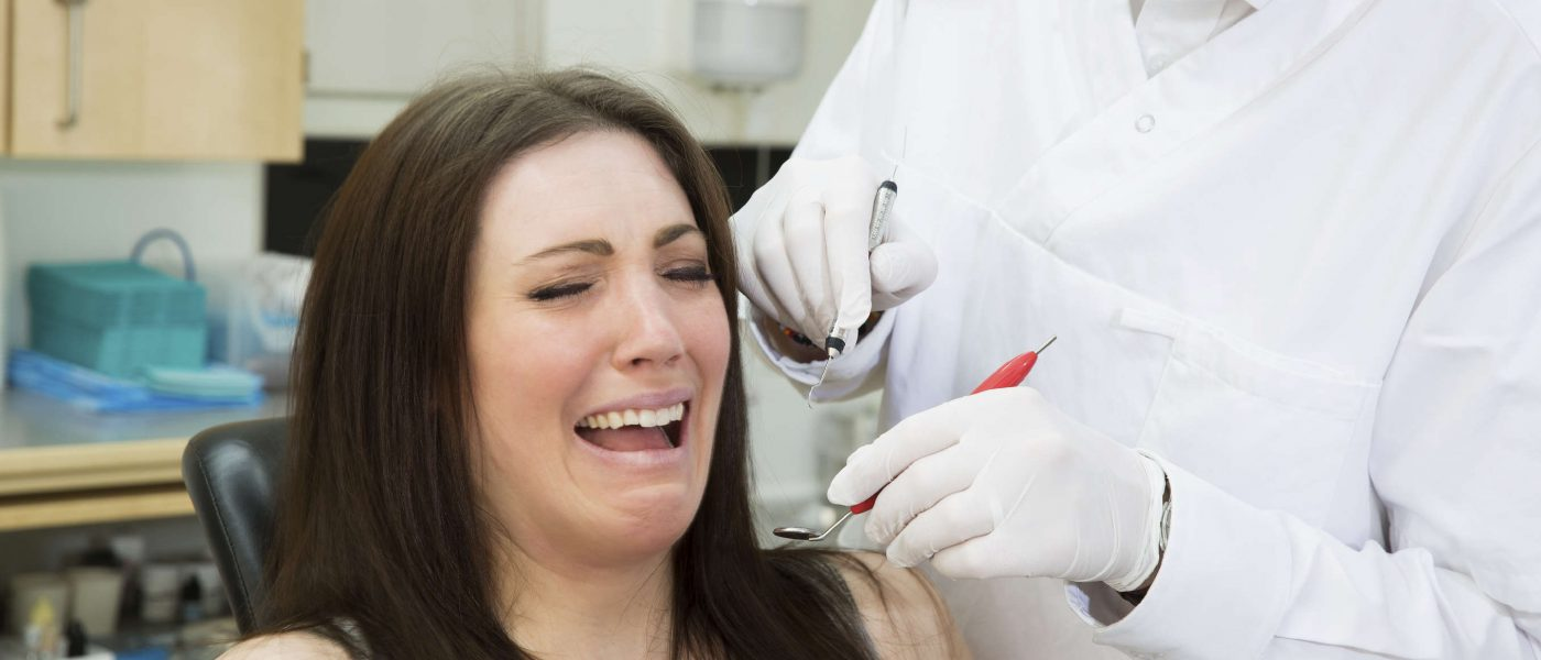 fear of dentists phobia