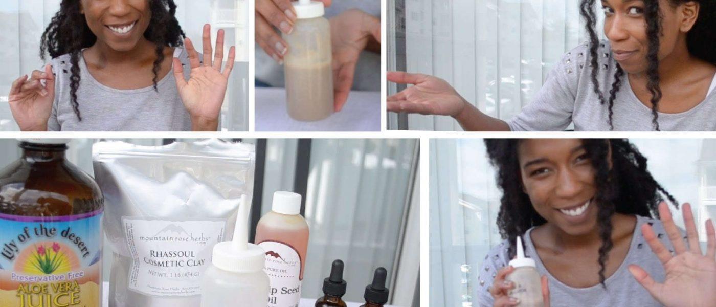 Wash Hair With Clay Best Shampoo Alternative