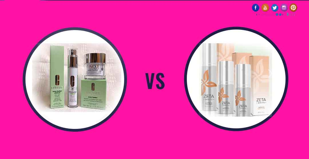 Clinique Even Better Vs Zeta Skin Whitening Cream