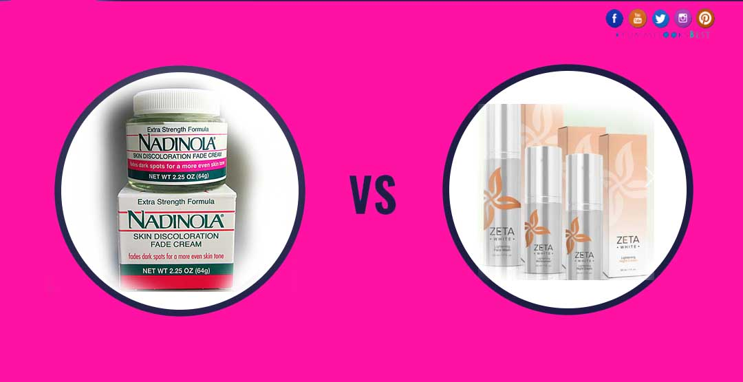 Nadinola vs Zeta skin bleaching cream