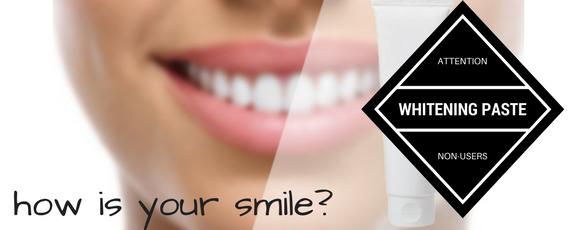 teeth whitening pastes