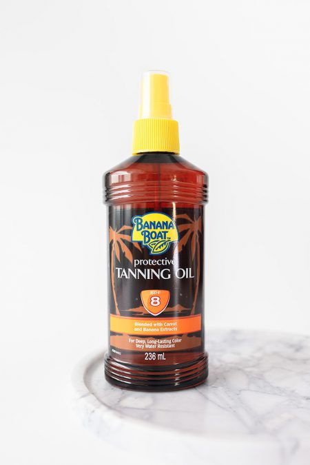 Banana Boat Protective Tanning Oil Spray